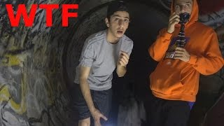 LITTLE GIRL SCREAMS IN THE HAUNTED TUNNEL... (WTF) | FaZe Rug