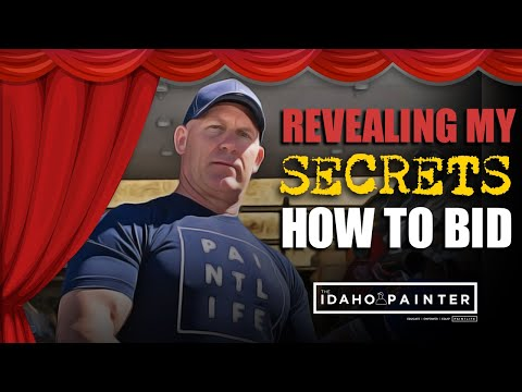 How To Bid Paint Jobs: The Secret to Painting Estimates in 2020. My Secrets Revealed!