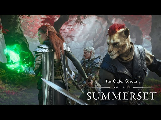 The Elder Scrolls Online Summerset Themed Cinematic Trailer Is Out