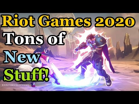 Riot GameS(!) 2020 - FPS, ARPG/MMO(?), Fighting Game, Rise of the Elements, and More!