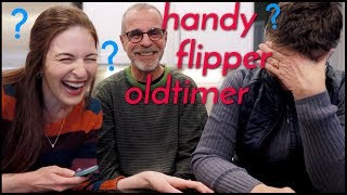 American Parents Guess GERMANIZED ENGLISH Words!!!