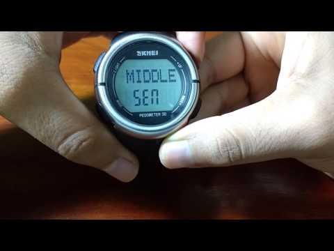 Reloj para running Skmei Podómetro pulsómetro
