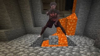 Stack up the Legos Challenge but in Minecraft