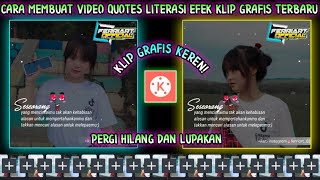 Cara Membuat Video Quotes Literasi Dengan Lagu Dj Pergi Hilang Dan Lupakan