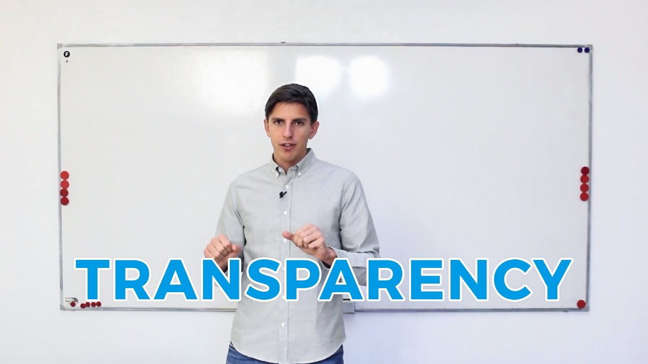 How does OKR improve transparency?