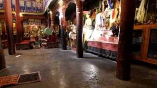 preview picture of video 'Monk praying at Hemis Monastery'