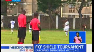 Tusker qualify to the round of 16s in the FKF Shield tournament