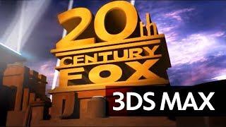 3Ds Max: 20th Century FOX Intro   Full HD, Optimized