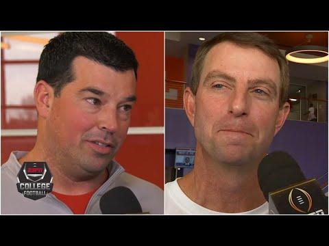 Ryan Day, Dabo Swinney look ahead to Ohio State vs. Clemson   College Football on ESPN