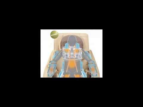 Robotouch Elite Plus Premium Powerful Black Massage Chair