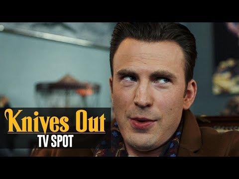 """Knives Out (2019) Official TV Spot """"Who Dunnit""""– Daniel Craig, Chris Evans, Ana de Armas"""