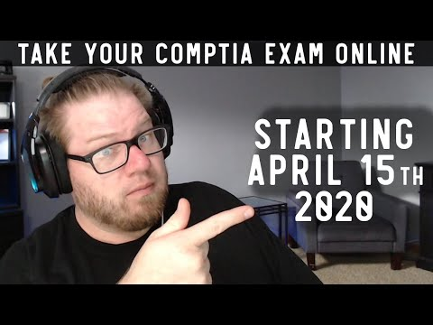 CompTIA announces ONLINE Exam Testing Starting April 15th ...