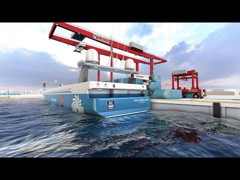 Yara Birkeland - koncept električnog transportnog broda