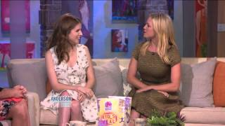 Anna Kendrick and Brittany Snow on an Uncomfortable Scene