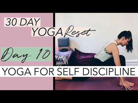 20 Min Hatha Yoga for Self Discipline   30 Day Yoga Reset ...