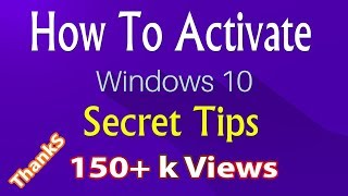How to activate windows 10 for free without software and crack how to activate windows 10 for free permanently 2017 ccuart Images