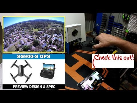 SG900-S Drone DJI Clone - Unboxed Reviewed and 1080P TEST Flight