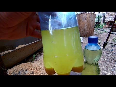 Der Zusatz für das Benzin gegen das Wasser