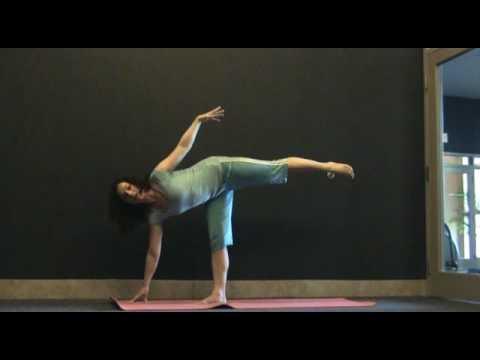 halfmoon pose  exercise