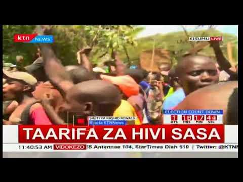 Taswira na hali ilivyo Kisumu katika maandamano hayo