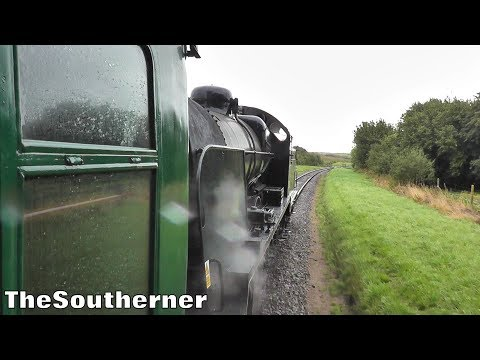 Southern Railway U Class 31806 storms Corfe bank on the Swan…