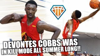 SUPER SOPH DEVONTES COBBS HAS SILLY BOUNCE!! | Tez Was LOCKED IN All Summer w/ Strive For Greatness
