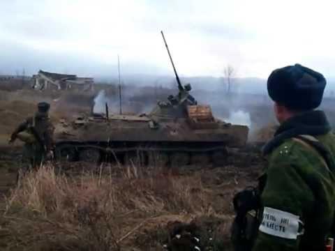 Учения в Чечне (февраль 2011г)