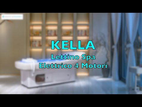 KELLA SPA water bed/couch 4 motors heated with comotherapy and glove box