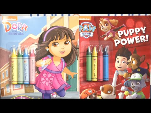 Dora And Friends Welcome To The City Coloring Book From Golden Books