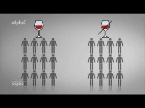 Von der Diagnose der langdauernde Alkoholismus