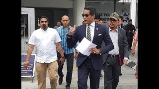 """""""Robbed"""" GST refunds: KJ lodges police report"""
