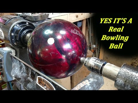 Turning a Bowling Ball into a Bowl