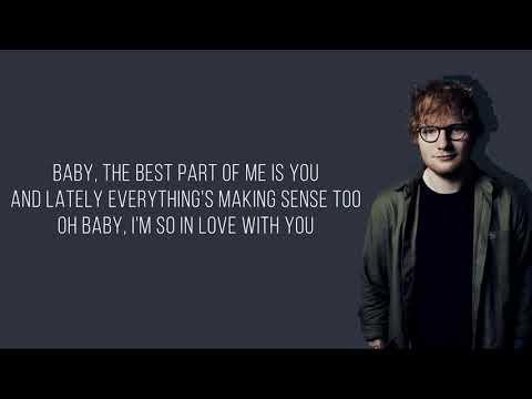 Ed Sheeran - Best Part Of Me (feat. YEBBA) [Lyrics Video]