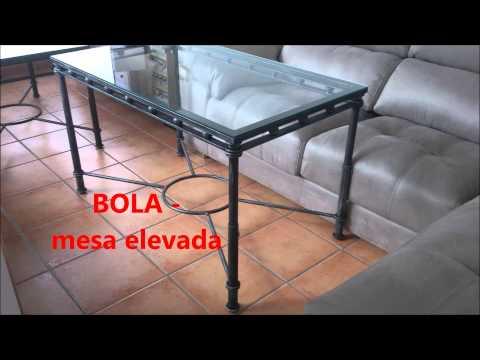 Mesa de Forja elevabre - brasero- en Pilas