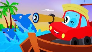 A Sailor Went To Sea | Little Red Car | Songs for kids