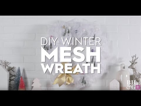 Mesh Wreath  | Made By me Crafts | Better Homes & Gardens