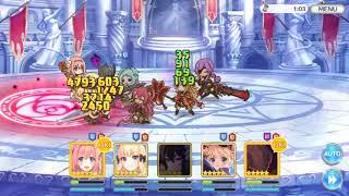 ニノン  - (プリンセスコネクト! Re:Dive) - プリコネR アリーナ VS(ミヤコ、クウカ、ツムギ、ニノン、ミツキ)