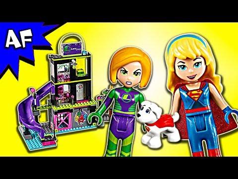 Vidéo LEGO DC Super Hero Girls 41238 : L'usine à Kryptomite de Lena Luthor