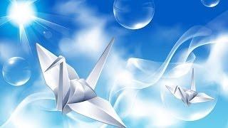 Бумажный журавлик
