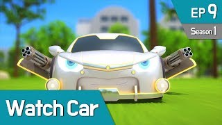 Power Battle Watch Car S1 EP09 Invincible Shield, Million 01 (English Ver)