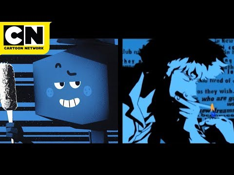 """""""The Amazing World of Gumball"""" has created a Cowboy Bebop-style opening for one of their background characters in the latest episode """"The Spinoffs."""""""