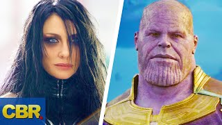 What People Forget About Thanos And Hela