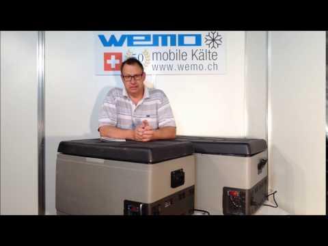 WEMO 65GTA Kompressorkühlbox Tiefkühlbox Gefrierbox 12V 24V 12 Volt Auto Boot Yacht Solar Kühlbox