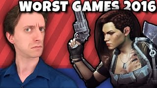 Top Ten WORST Games of 2016 - ProJared