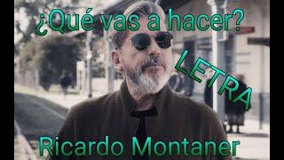 Ricardo Montaner-¿Qué vas a hacer? (LETRA) Arabe_JP