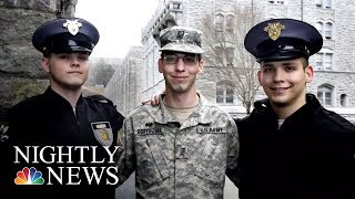 THE MEET GROUP INC. - Meet The Three Brothers Who Just Graduated West Point Together | NBC Nightly News