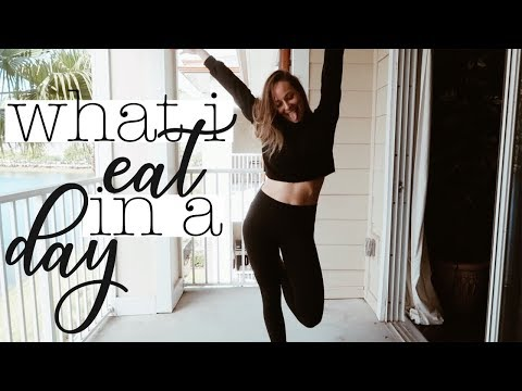 What I Eat In A Day & Exercise | healthy & realistic