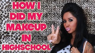 SNOOKI'S HOW I DID MY MAKEUP IN HIGH SCHOOL