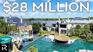 $28 MIllion Dollar Texas Mansion With its Own Haunted Waterpark