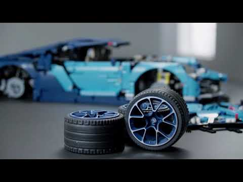 Конструктор King «Bugatti Chiron» 90056 (Technic 42083) / 4031 деталь